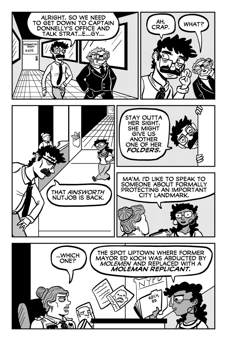 Curse of the Dying Dutchman, Page 8.