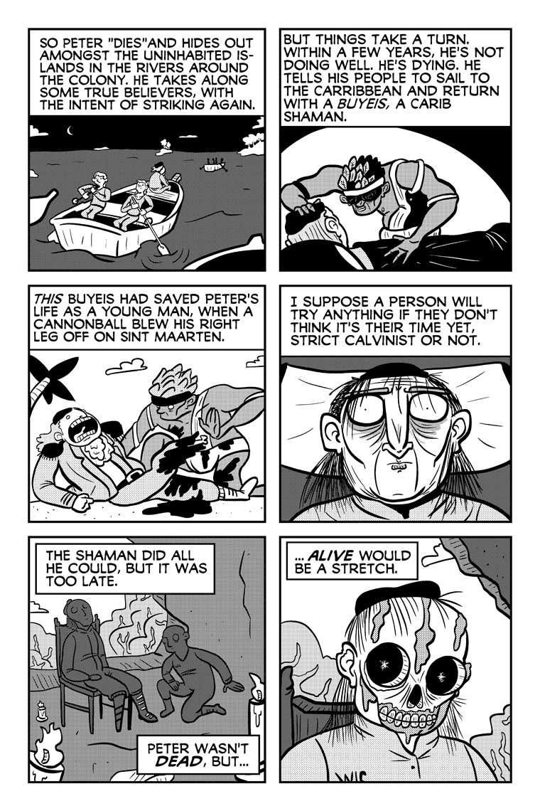 Curse of the Dying Dutchman, Page 34.